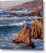 January In Big Sur Metal Print