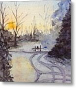 January Morning Metal Print
