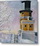 Januarys Light Metal Print