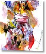 Japanese Mother And Child Metal Print