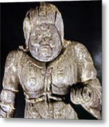 Japan: Buddhist Statue Metal Print