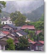 Japan Countryside Metal Print