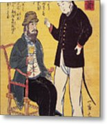 Japan: French Trade, 1861 Metal Print