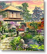 Japan Garden Variant 2 Metal Print