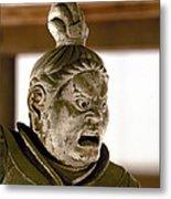 Japan: Warrior Statue Metal Print