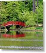 Japanese Garden Bridge  Metal Print