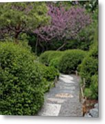 Japanese Garden I Metal Print