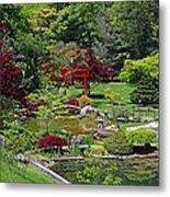 Japanese Garden II Metal Print