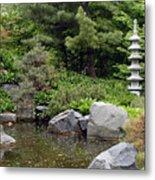Japanese Garden Iv Metal Print