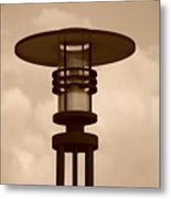 Japanese Lamp Metal Print