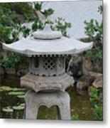 Japanese Lantern Metal Print