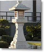 Japanese Stone Pagoda Metal Print