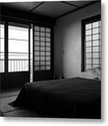Japanese Style Room At Manago Hotel Metal Print