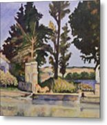 Jas_de_bouffan_after_cezanne Metal Print by Don Perino