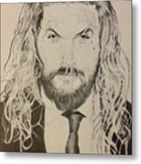 Jason Mamoa Metal Print