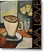Java Love Poster Metal Print