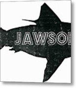 Jawsome Metal Print