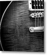 Jay Turser Guitar Bw 1 Metal Print