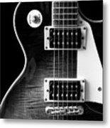Jay Turser Guitar Bw 4 Metal Print