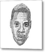 Jay Z Metal Print