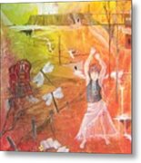 Jayzen - The Little Gypsy Dancer Metal Print