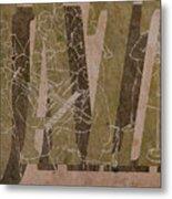 Jazz 34 Duke Ellington - Brown Metal Print