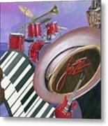 Jazz At Sunset Metal Print