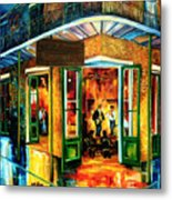 Jazz At The Maison Bourbon Metal Print