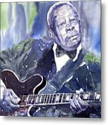 Jazz B B King 01 Metal Print