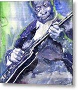 Jazz B B King 02 Metal Print