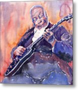Jazz B.b. King 03 Metal Print