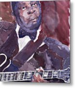 Jazz B B King Metal Print