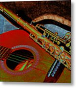 Jazz Band Metal Print