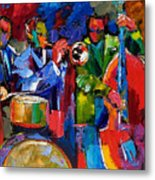 Jazz Beat Metal Print