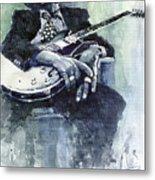 Jazz Bluesman John Lee Hooker 04 Metal Print