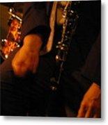 Jazz Clarinet Metal Print