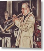 Jazz Club Metal Print