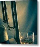 Jazz Club Still Life Metal Print