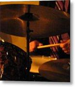 Jazz Drums Metal Print
