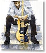 Jazz Marcus Miller 4 Metal Print