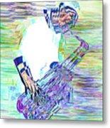 Jazz Melody Metal Print