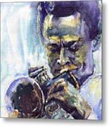 Jazz Miles Davis 10 Metal Print