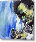 Jazz Miles Davis 5 Metal Print
