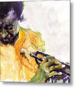 Jazz Miles Davis 7 Metal Print