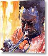 Jazz Miles Davis 8 Metal Print