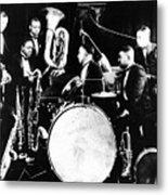 Jazz Musicians, C1925 Metal Print