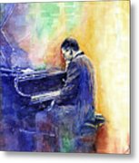 Jazz Pianist Herbie Hancock  Metal Print