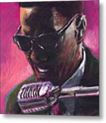 Jazz. Ray Charles.1. Metal Print