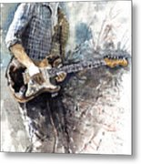 Jazz Rock John Mayer 05  Metal Print