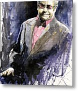 Jazz Sir Elton John Metal Print